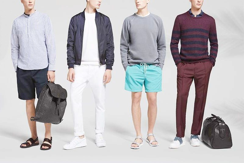 Banner fashion men